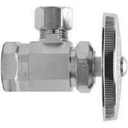 1/2 in. FIP Inlet x 1/2 in. O.D. Compression Outlet Multi-Turn Angle Valve 873075