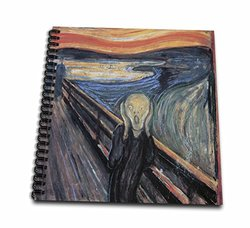 """3dRose db_130172_1 The Scream by Edvard Munch Drawing Book, 8 by 8"""""""