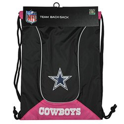 "NFL Dallas Cowboys DoubleHeader 18"" Backsack - Black/Pink"