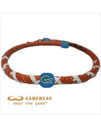 NCAA Florida Gators Classic Spiral Football Necklace