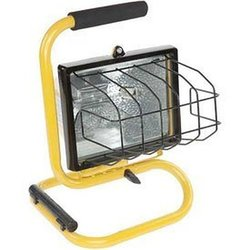 Bayco 500W Halogen Light - Yellow (SL-1002)
