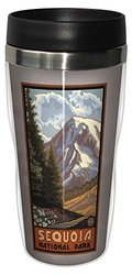 Tree-Free Greetings sg23298 Scenic Sequoia National Park Vista by Paul A. Lanquist Stainless Steel Sip 'N Go Travel Tumbler, 16-Ounce, Multicolored