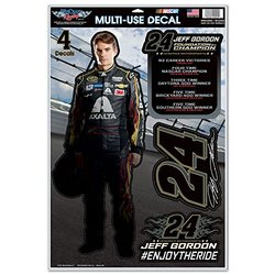 "WinCraft Nascar Jeff Gordon Retirement Decal Sheet - Multi - 11"" x 17"""