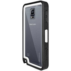 Amzer Crusta Rugged Case for Samsung Galaxy Note 4 - Black/Yellow