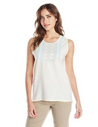 Mountain Khakis Women's Sunnyside Tank, Cream, Medium