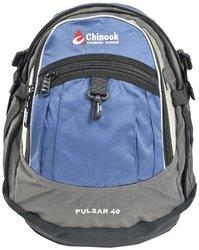 Chinook 40-Liter Pulsar Organizer Daypack - Blue-Gray