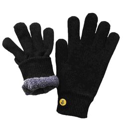 Glove.ly Cozy Touch Screen Gloves - Black - Size: Small