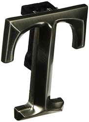 Monogram Letter T Door Knocker - Nickel Silver