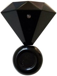 Mollaspace Diamond Ring Speaker, Black