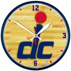 NBA Washington Wizards Round Wall Clock