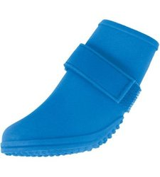 Jelly Wellies Rain or Shine Dog Boot: Blue - Large