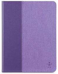 "Belkin 10"" Chambray Cover for iPad Air/iPad Air 2 - Purple"