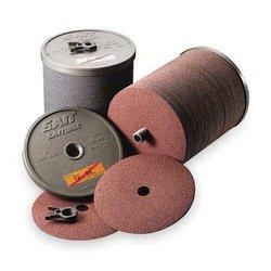"""United Abrasives 9-1/8x7/8"""" 80 Grit Sait Zirconia Resin Fiber Disc -100 Pk"""