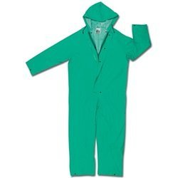 River City 611-2981XL Dominator- 0.35 mm. Pvc-Polyester Coverall - Green