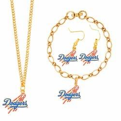 MLB Los Angeles Dodgers Jewelry Set