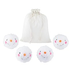 Department 56 Welcome to Snowville Snowball Figure, Set of 5