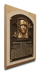 That's My Ticket Rich Gossage Baseball Hall of Fame Plaque - Brown - Med