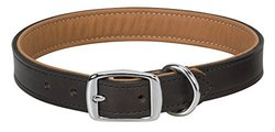 "Weaver Leather Padded Collar, British Tan Liner, 1"" x 21"""