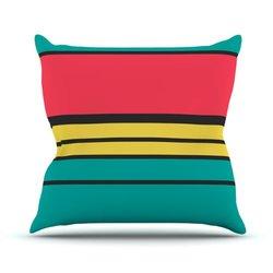 "Kess InHouse Danny Ivan ""Simple"" Outdoor Throw Pillow - 26"" X 26"""