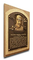 That's My Ticket Willie Stargell Baseball Hall of Fame Plaque - Brown - Med