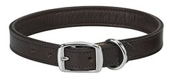 "Weaver Leather Padded Collar, Chocolate Liner, 1"" x 25"""