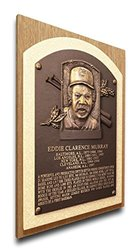 That's My Ticket Eddie Murray Baseball Hall of Fame Plaque - Brown - Medium