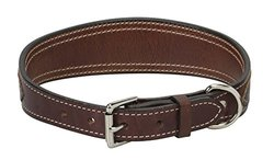 "Weaver Leather Stampede Collar, Rich Brown, 3/4"" x 13"""
