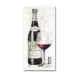 Trademark Fine Art Pencil Wine I Artwork by Avery Tillmon, 10 by 19-Inch