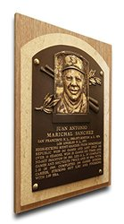 MLB San Francisco Giants Juan Marichal Baseball Hall of Fame Plaque -Brown