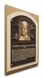 MLB Executive Pat Gillick Baseball Hall of Fame Plaque - Brown