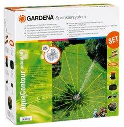Gardena quacontour Automatic Fully Adjustable Underground Sprinkler Set