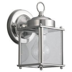 SGL 8592-965 1-Light Outdoor Wall Fixture - Antique Brushed Nickel