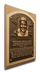 That's My Ticket New York Giants Monte Irvin Baseball Hall of Fame Plaque