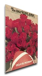 That's My Ticket NCAA Ucla Bruins Rose Bowl Regular Canvas Program Cover