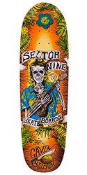 Sector 9 Gavin Pro Longboard Deck - Orange