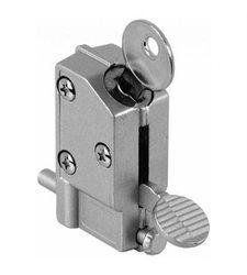 Keyed Step-on Sliding Door Lock Alluminium