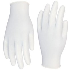 Cordova Safety Products Silver Industrial Grade Latex Gloves - Size: XL