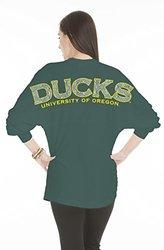 NCAA Oregon Ducks Women's Jade Jersey - Forest Green - Size: XX-Large