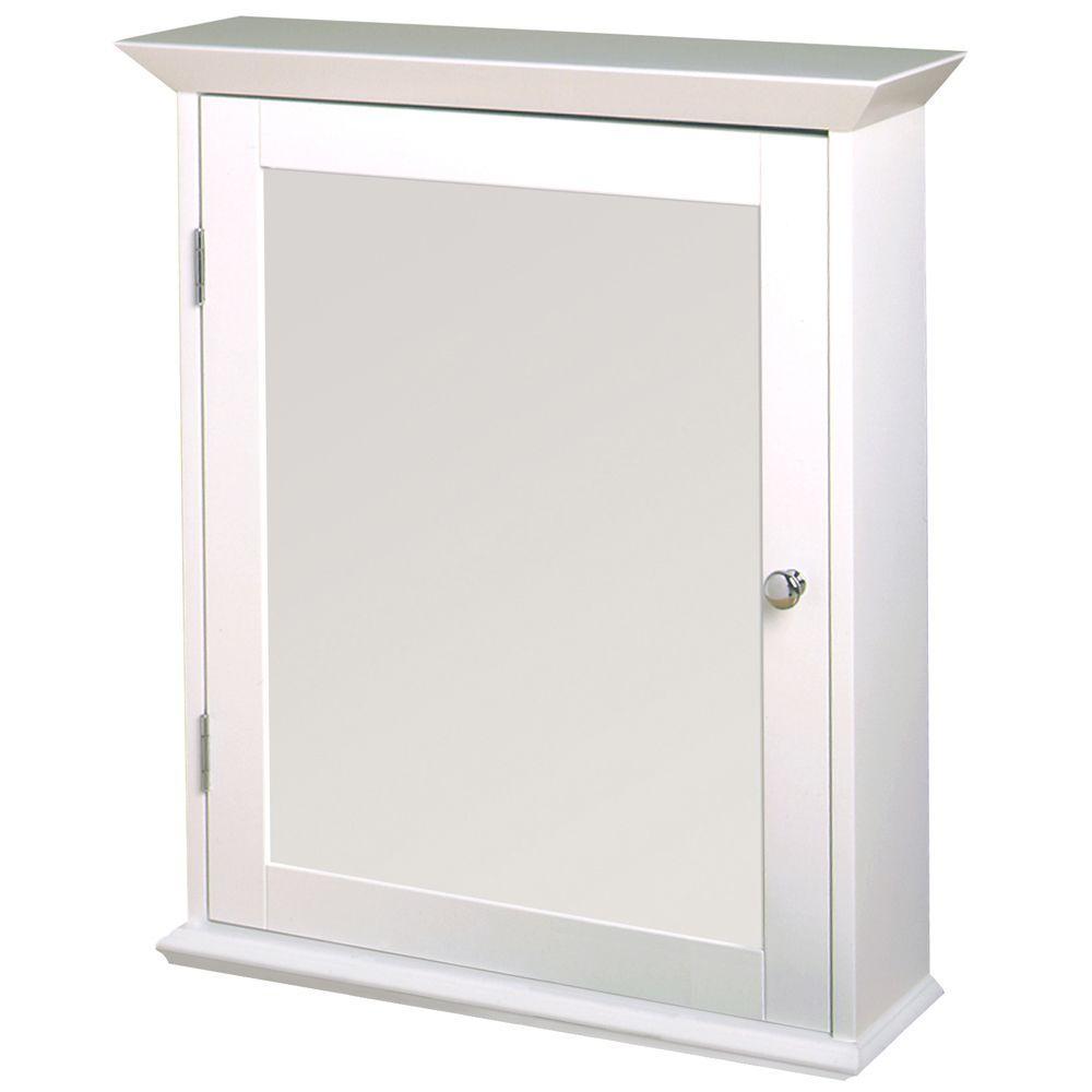 Zenith 22 X 25 Wood Swing Door Surface Mount Medicine Cabinet