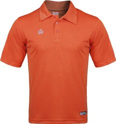 Admiral Classic Soccer Coach Sideline Polo Shirt - Orange - Size: Small