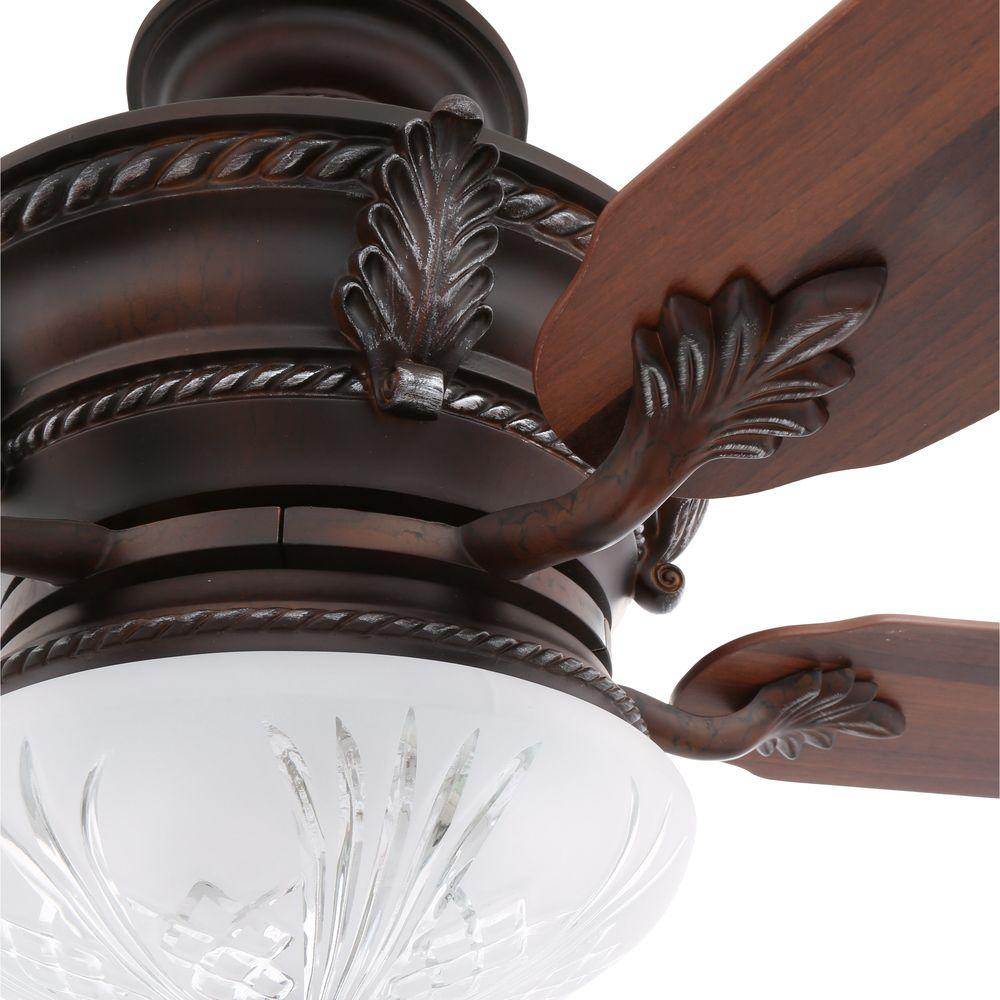Volterra Bronze Ceiling Fan