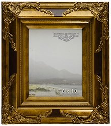"MyFrameStore Imperial Frame - Solid Wood/Gold - 8""X10"""
