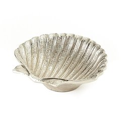 "Elegance by Leeber 5.75"" Aluminum Shell Dish"