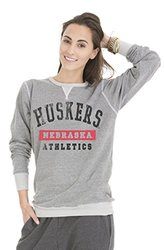 Venley NCAA Nebraska Cornhuskers Crew Neck Sweatshirt - Grey - Sz: Medium