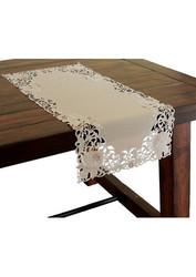 """Xia Home Fashions Cutwork Christmas Table Runner - 15"""" x 54"""""""