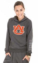 NCAA Auburn Tigers Buttersoft Tri-Blend Hoodie - Tri-Onyx - Size: Small