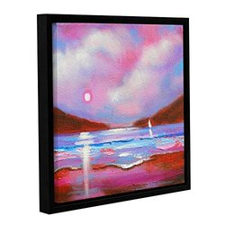 ArtWall Susi Franco's Sail on Gallery Wrapped Floater-Framed Canvas, 18 by 18""