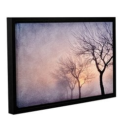 Cora Niele's Early Morning Gallery Wrapped Floater Framed Canvas 16 x 24""