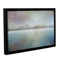 """ArtWall 16""""x24"""" Landscape Iceland Gallery Wrapped Floater Framed Canvas"""