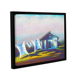 "ArtWall 18""x24"" Susi Franco's March Laundry Gallery Wrapped Framed Canvas"